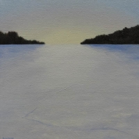 Emily Bickell - Frozen Lake