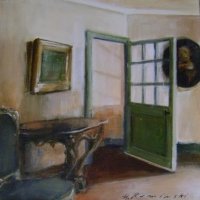 Hanna Ruminski - Interior with Console Table