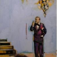 Lorena Ziraldo - Man In A Suit, Thinking