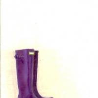Erin Vincent - Purple Boots