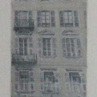 Eleanor Doran - Rue St. Francois de Paul study