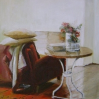 Hanna Ruminski - Interior with bistro table