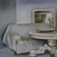 Hanna Ruminski - Interior with round table