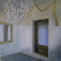 Hanna Ruminski - Interior with crystal chandelier