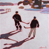 Elizabeth Lennie - Pond Hockey 10