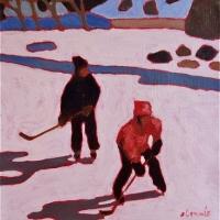 Elizabeth Lennie - Pond Hockey 13