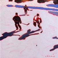 Elizabeth Lennie - Pond Hockey 6
