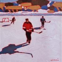Elizabeth Lennie - Pond Hockey 7