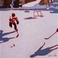 Elizabeth Lennie - Pond Hockey 8