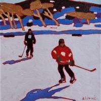 Elizabeth Lennie - Pond Hockey 9