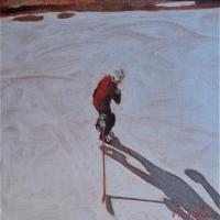 Elizabeth Lennie - Pond Hockey 1