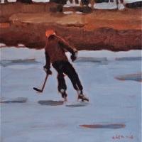 Elizabeth Lennie - Pond Hockey 2