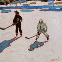 Elizabeth Lennie - Pond Hockey 3