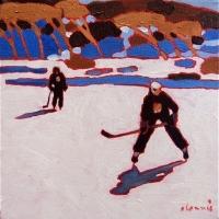 Elizabeth Lennie - Pond Hockey 4