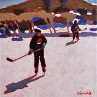 Elizabeth Lennie - Pond Hockey 5