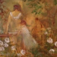Susan McLean Woodburn - Supper in the garden
