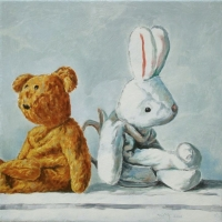 Marcel Kerkhoff - Bear and Bunny Back to Back