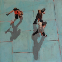 Sara Caracristi - Blue Tiles
