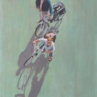 Sara Caracristi - Couple with Bikes
