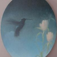 Greg Nordoff - Blue Hummingbird III