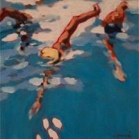 Elizabeth Lennie - Three Swimmers
