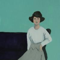 Elizabeth Bauman - It Was Always Better on that Purple Couch