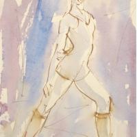 Mel Delija - Dancer Warming-Up