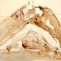 Mel Delija - Dancer Resting
