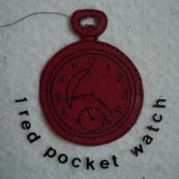 Gordana Olujic Dosic - 1 Red Pocket Watch