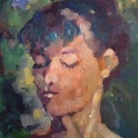 Masood Omer - Portrait of Kathy