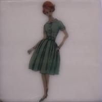 Beverly Owens - Green Dress, Green Shoes