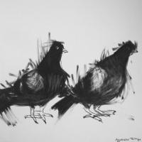 Agnieszka Foltyn - Untitled (Pigeons)