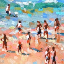 Elizabeth Lennie - The Beach