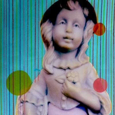 Helene Lacelle - Blue Violet