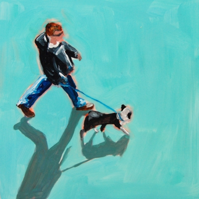 Sara Caracristi - Man with Dog