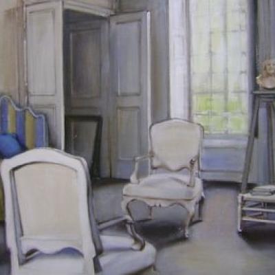 Hanna Ruminski - Sitting Room with Louis XV Armchair