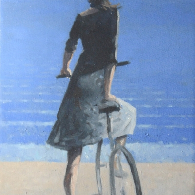 Greg Nordoff - Blue Cyclist