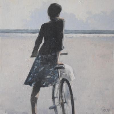 Greg Nordoff - Girl on Bike