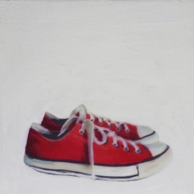 Erin Vincent - Red Sneakers