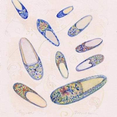 Susan McLean Woodburn - Slippers