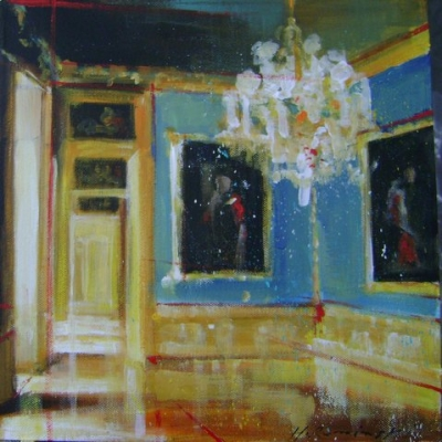 Hanna Ruminski - Room with Two Paintings