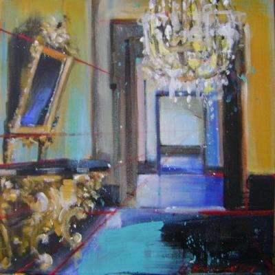 Hanna Ruminski - Room with Italian Console