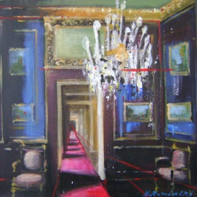 Hanna Ruminski - Room with the Fushia Runner