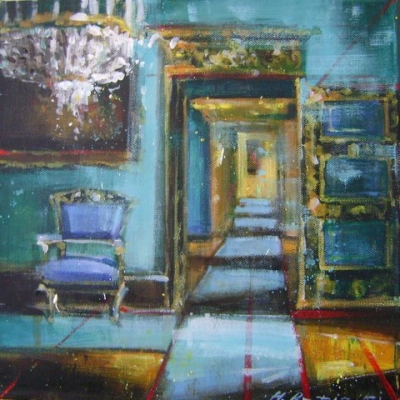 Hanna Ruminski - Room with the Chair