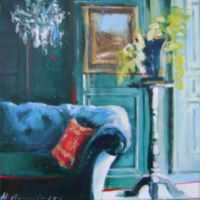 Hanna Ruminski - Room with the Kilim Pillow