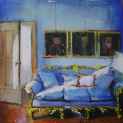Hanna Ruminski - Room with Blue Seat