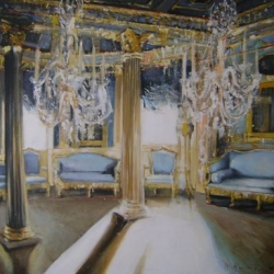 Hanna Ruminski - Neoclassical Blue Room