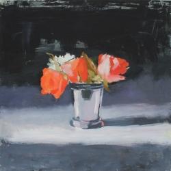 Hilda Oomen - Orange Roses, Wedding Cup