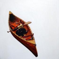Erin Vincent - Vintage Wood Canoe