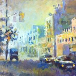 Masood Omer - Untitled (Street Scene)